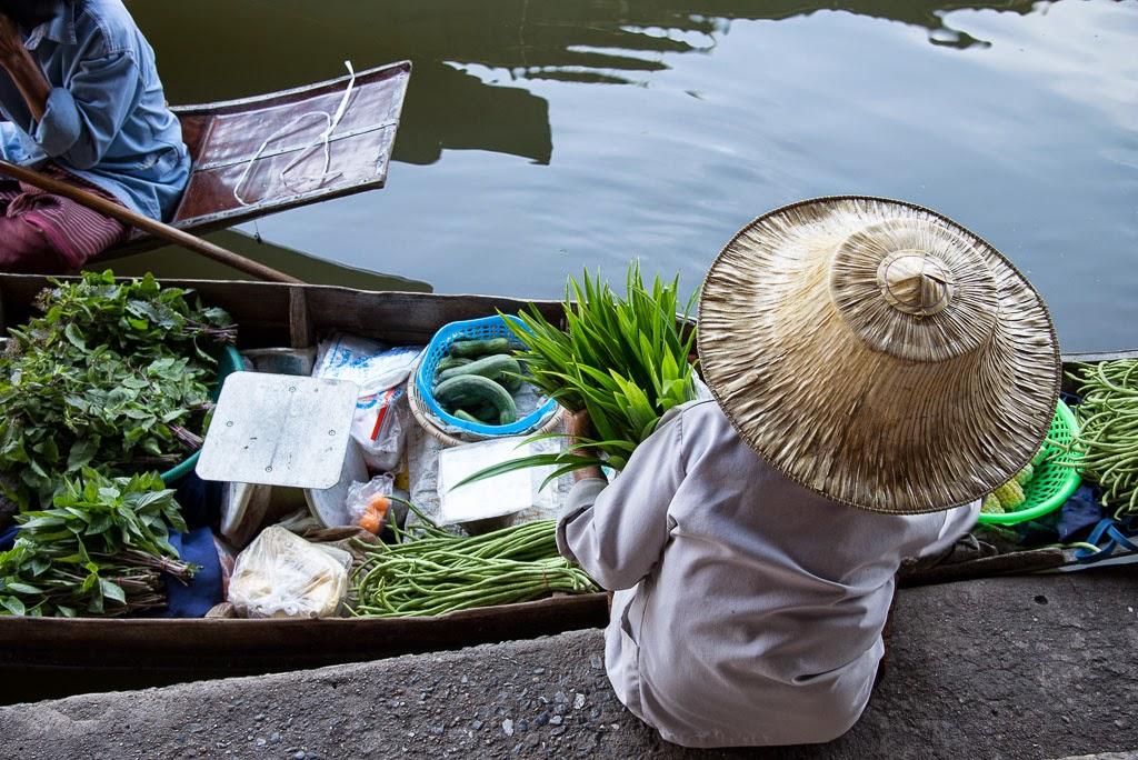Bangkok, mercato galleggiante e non solo