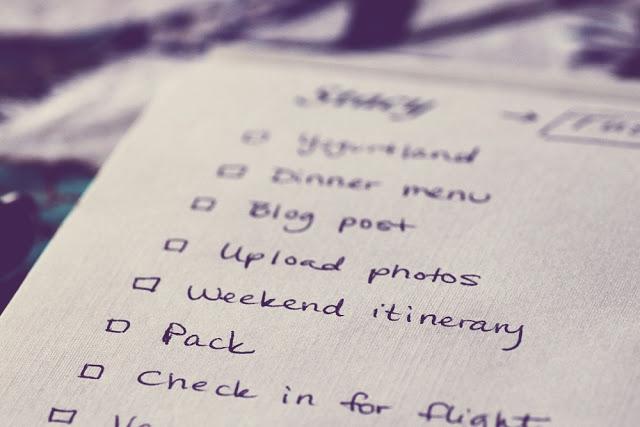 L'arte delle liste