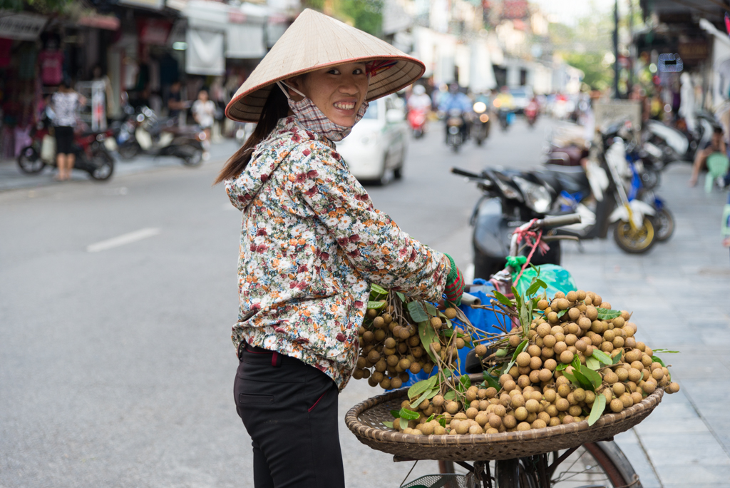 L'arrivo ad Hanoi, la capitale del Vietnam