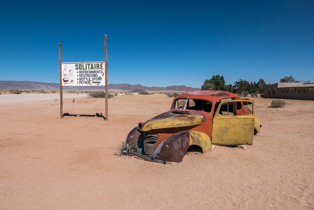 NAMIBIA – Solitaire, il luogo NON  luogo