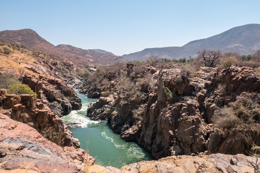 NAMIBIA – Epupa Falls, al confine con l'Angola