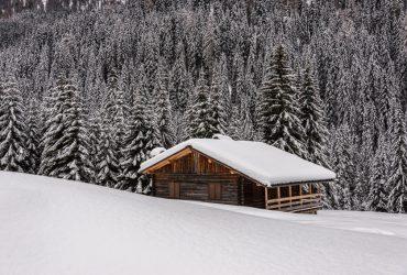 TRENTINO – La Val San Nicolò in inverno