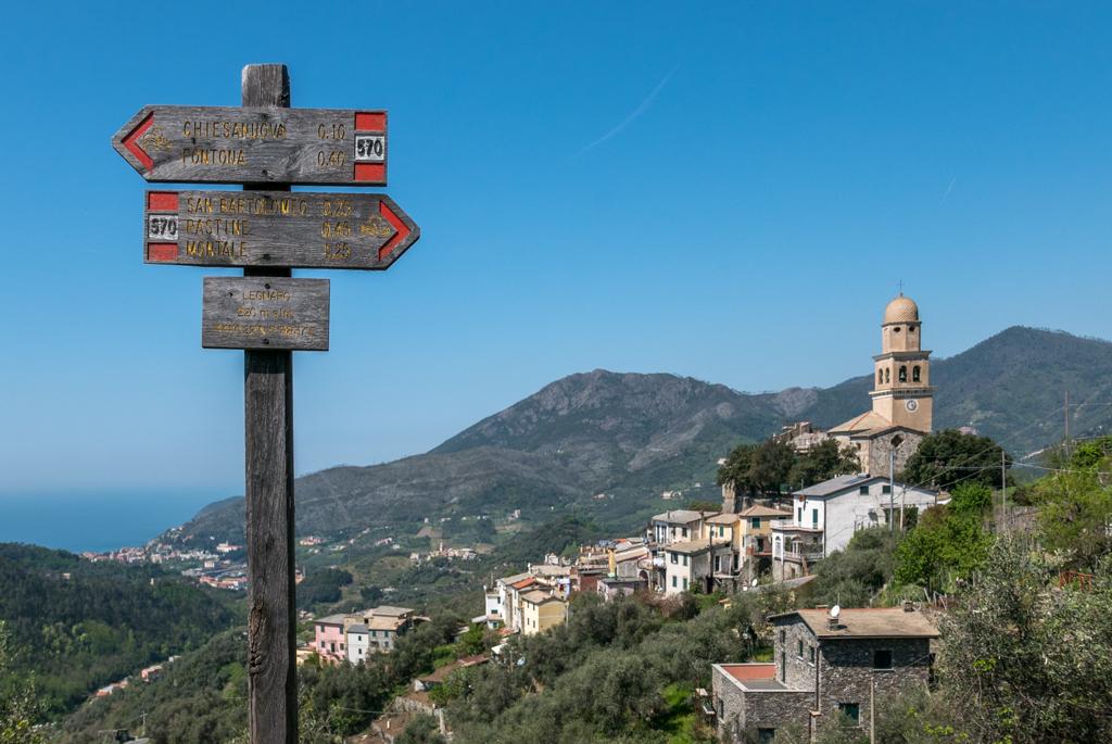 Trekking Liguria – Anello nell'entroterra di Levanto