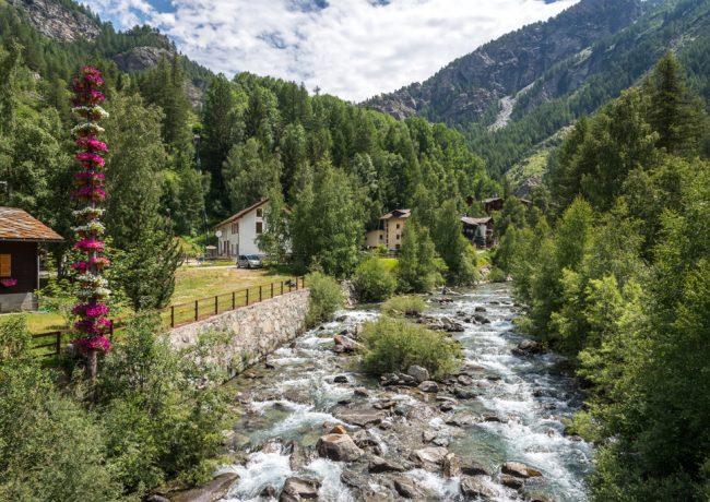Valle d'Aosta, Passeggiata alle cascate di Lillaz