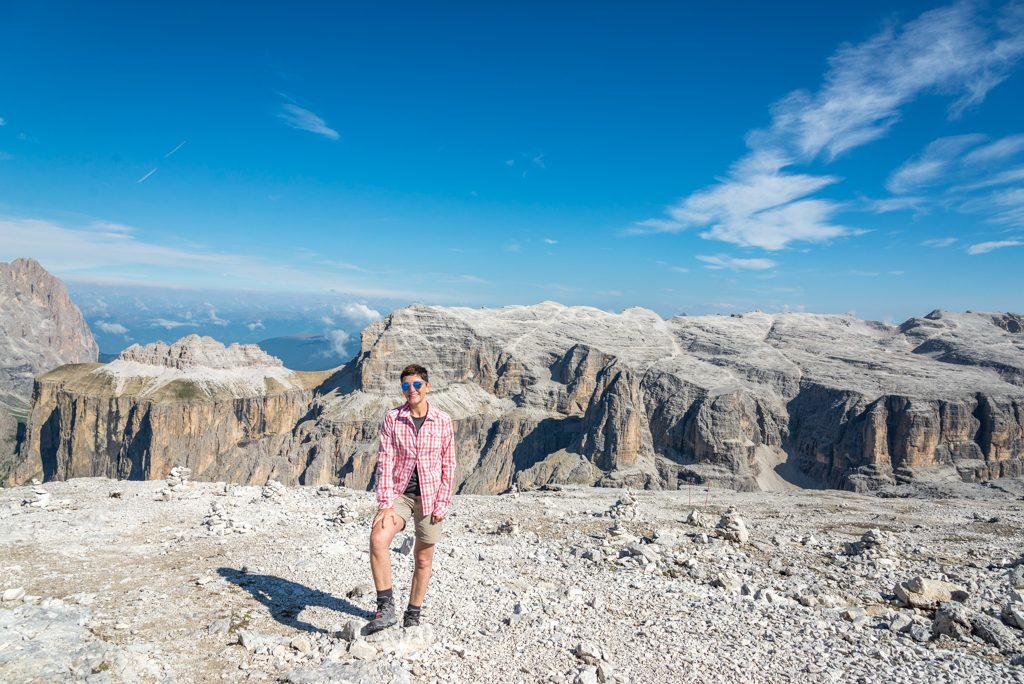 Escursione Sulla Terrazza Delle Dolomiti Dal Sass Pordoi Al Piz
