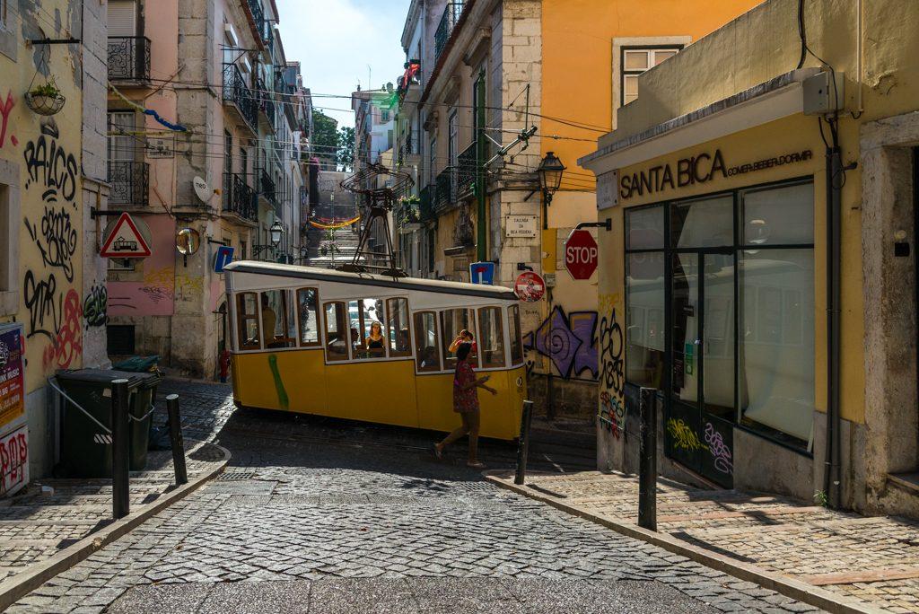 Elevador da bica, Lisbona