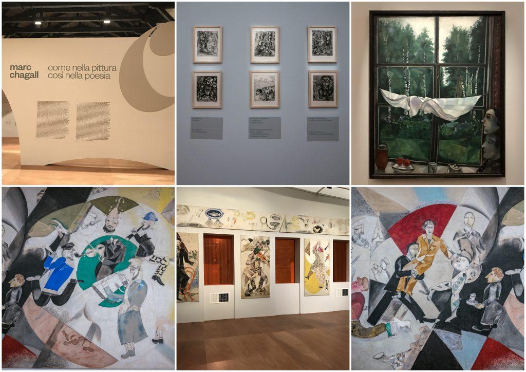 Mantova, mostra di Chagall