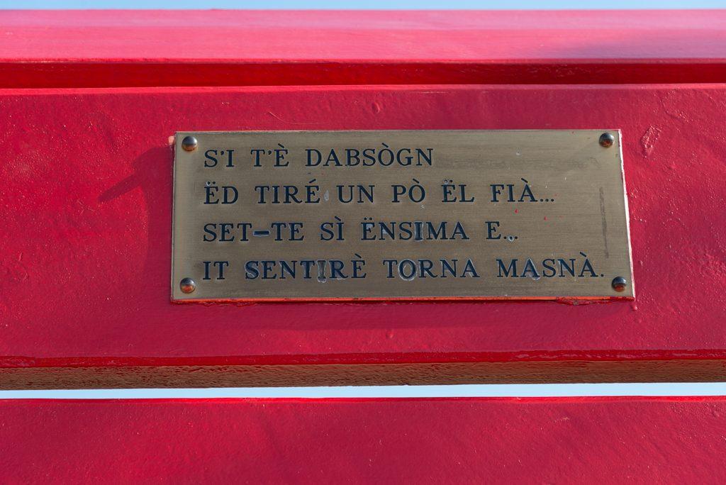 BBCP, panchina rossa Clavesana