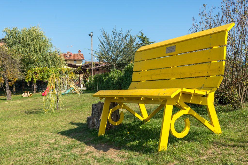 BBCP, panchina gialla, Clavesana