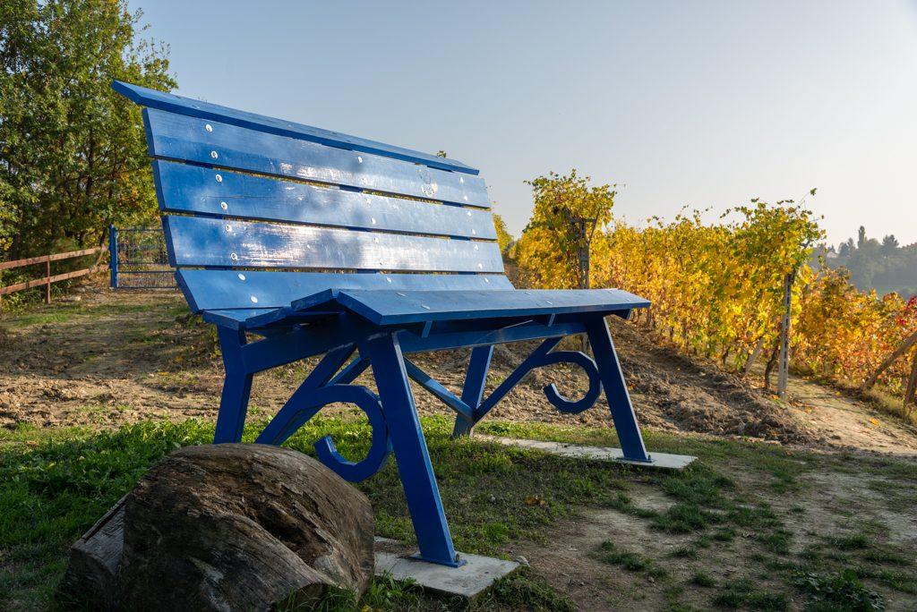 BBCP, panchina blu Clavesana