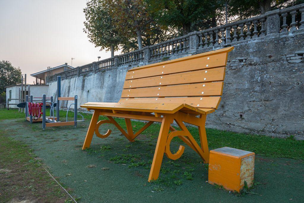 BBCP, panchina arancione, Piozzo