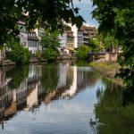 Strasburgo, lungo fiume