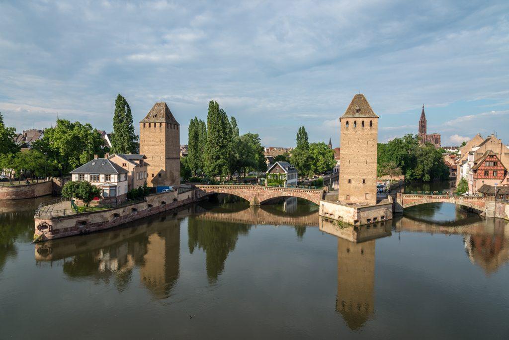 Strasburgo, Pont Couverts