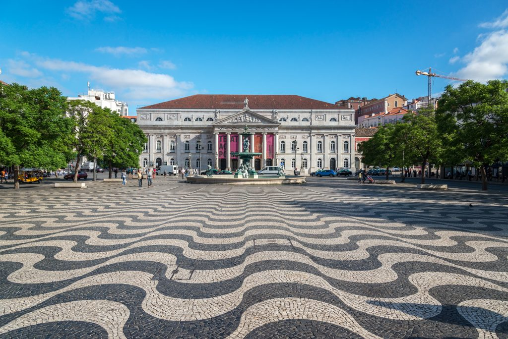 Lisbona, Plaza do Rossio