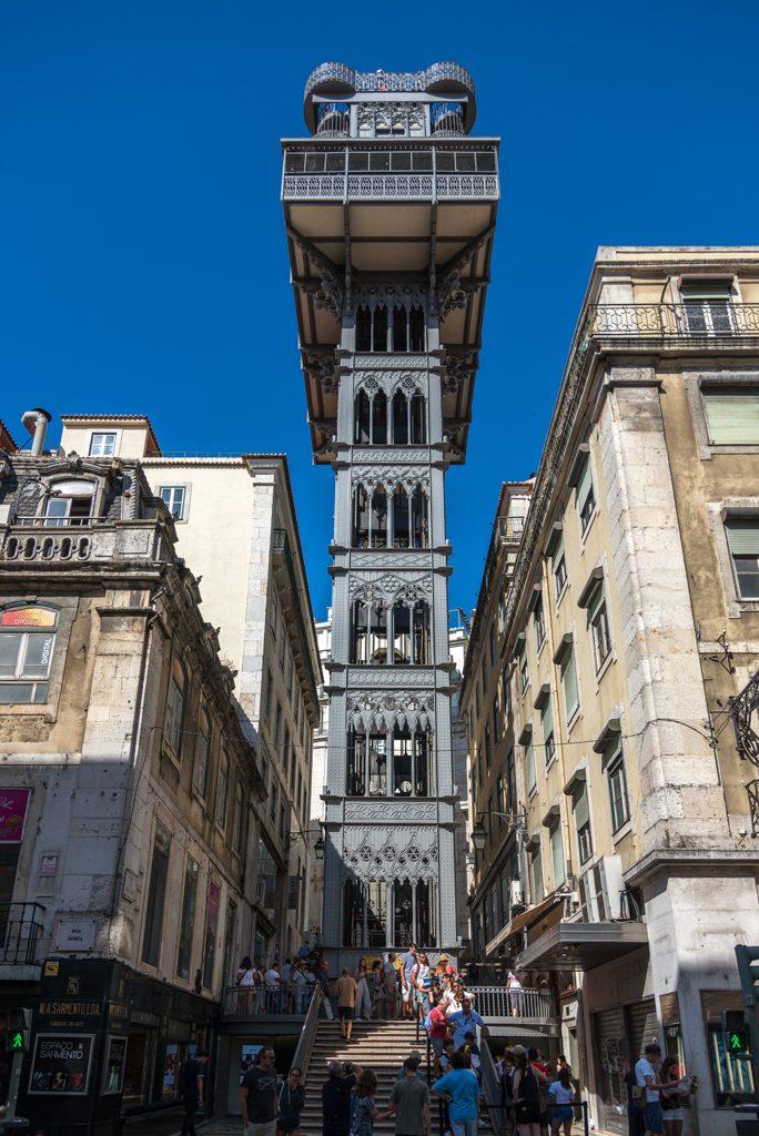 Lisbona, elevador Santa Justa