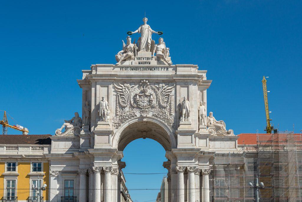 Lisbona, Praça do Comércio