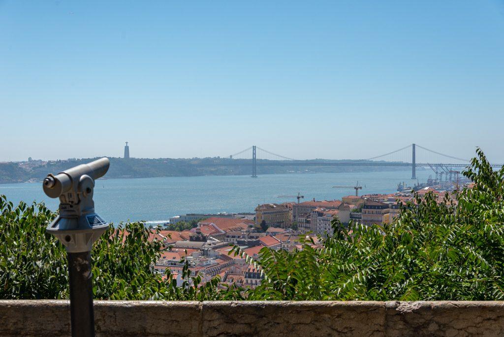 Lisbona, castello di Sao Jorge