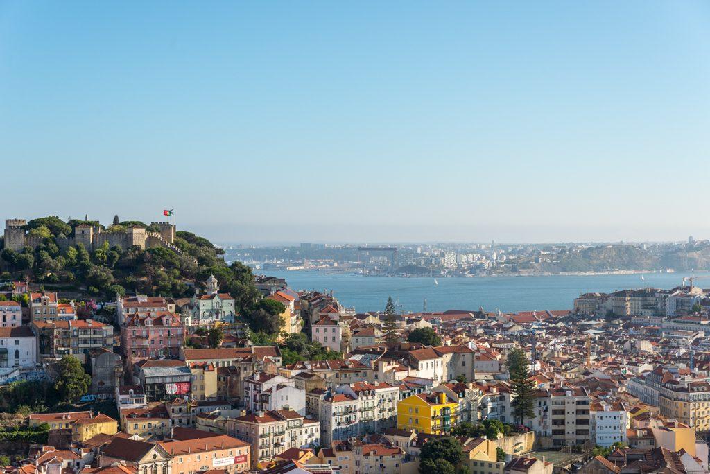 Lisbona, Miradouro da Monte