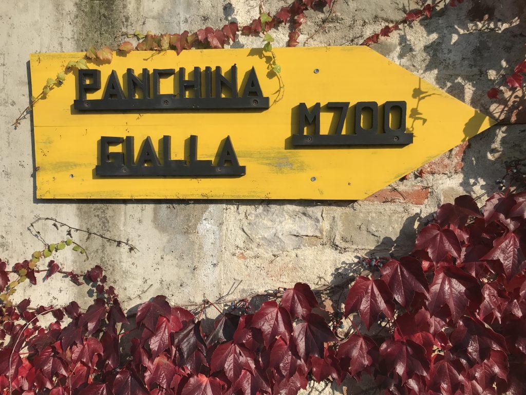 BBCP panchina gialla