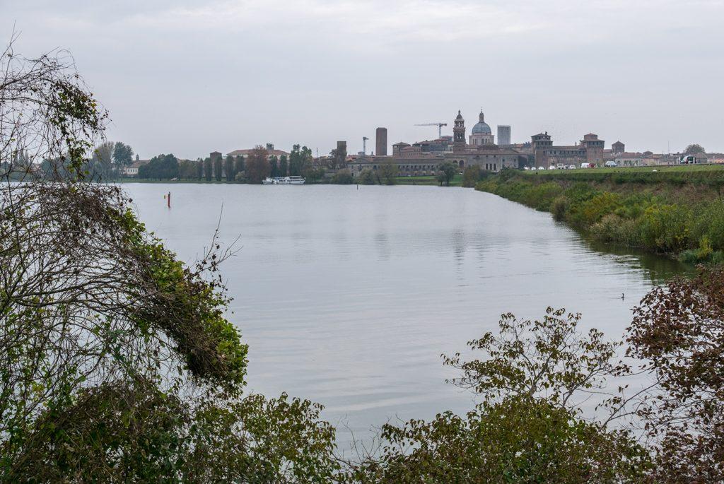Mantova, skyline