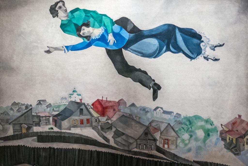 Marc Chagall, Sulla città