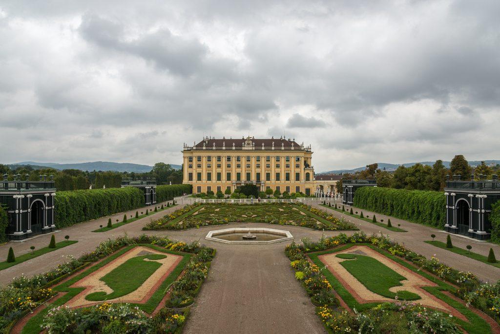 Schonbrunn, Giardini Privati