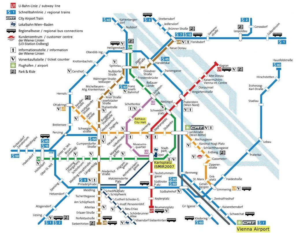 Metro di Vienna, foto scaricata dal web