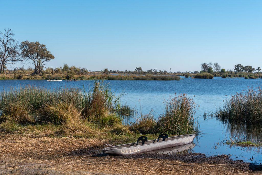 Delta dell'Okavango, mokoro