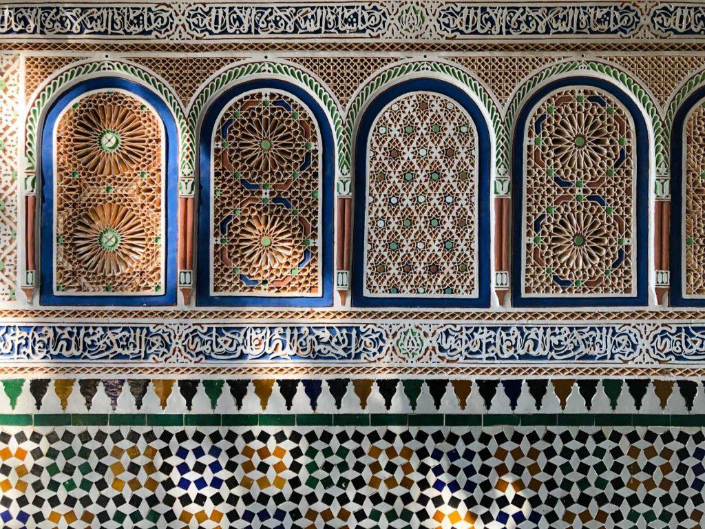 Marrakech, decorazioni