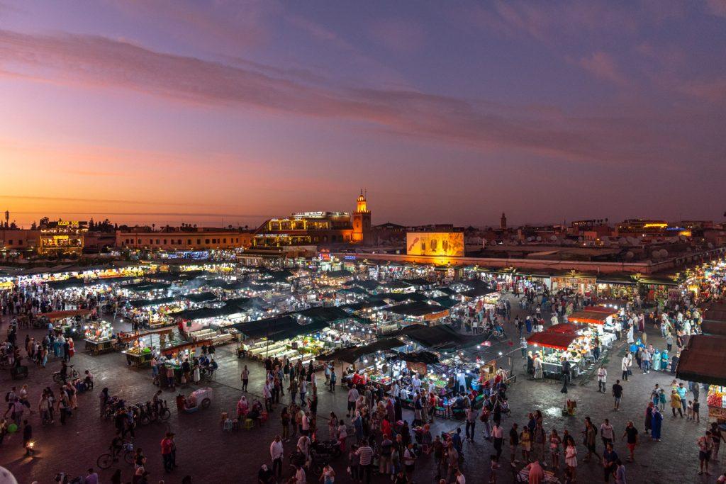 Marrakech, Jemaa el-Fna