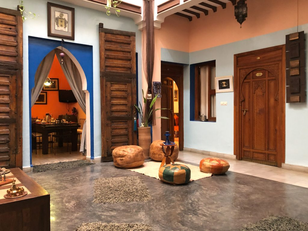 Marrakech, Riad Azcona