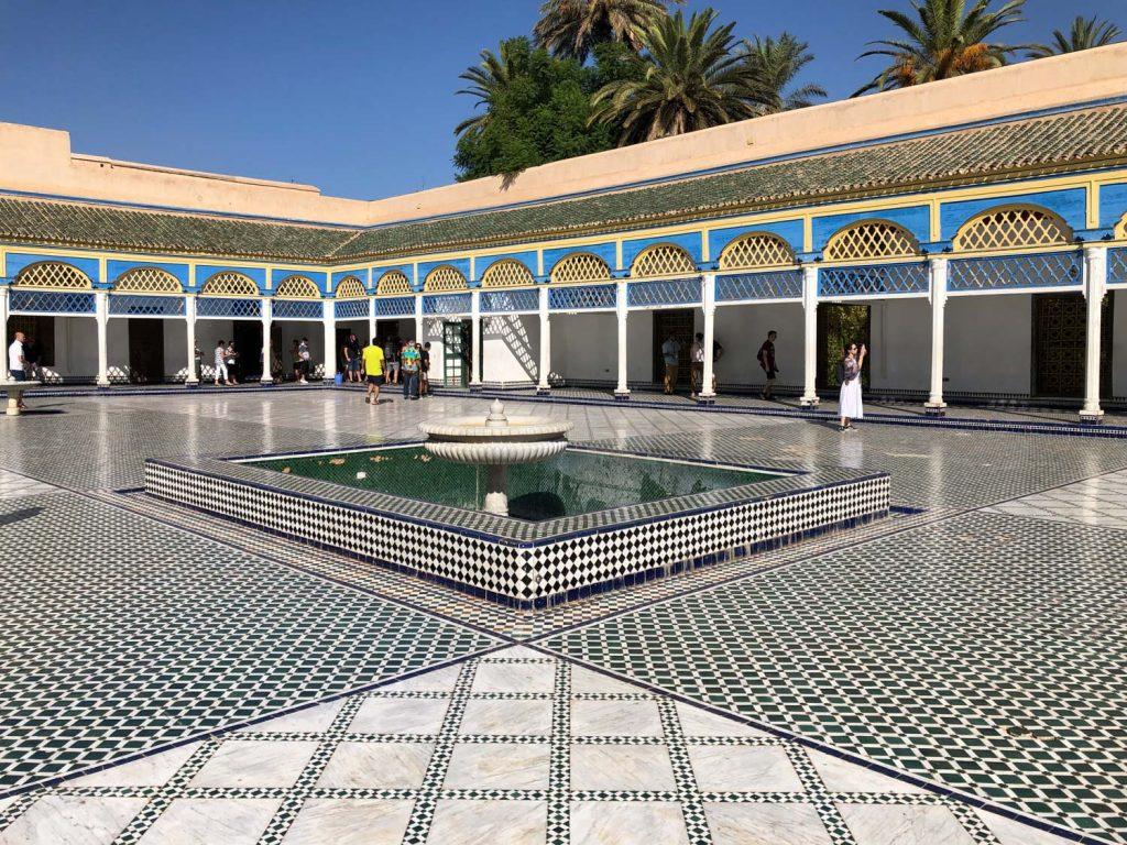Marrakech, Palazzo El Bahia