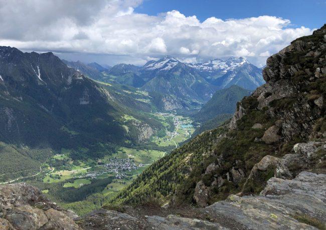 Valle d'Aosta – dal Col de Joux alla cima dello Zerbion