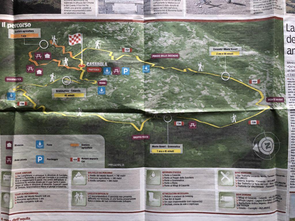 mappa Navert