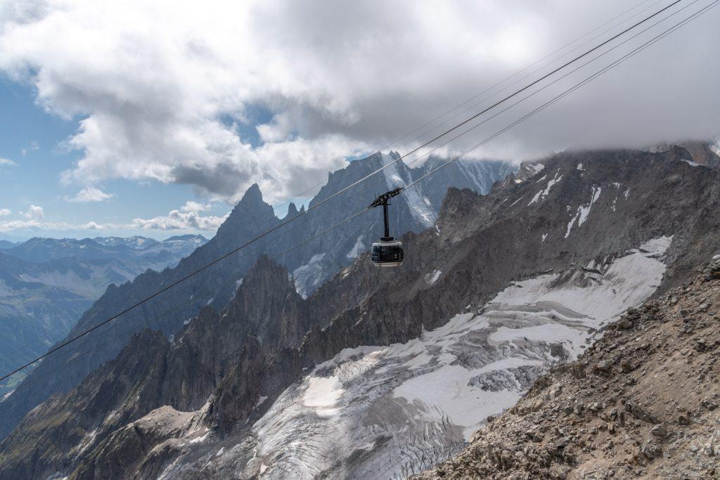 Valle d'Aosta, Sky Way Monte Bianco