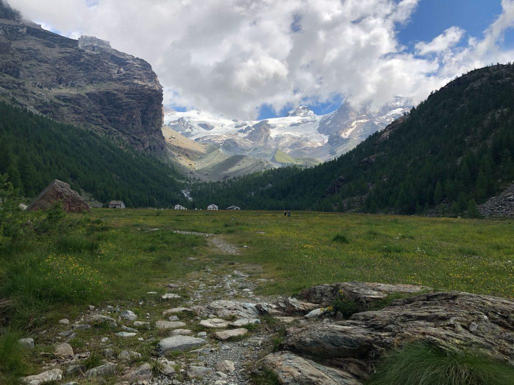 Lago Blu, Val d'Ayas