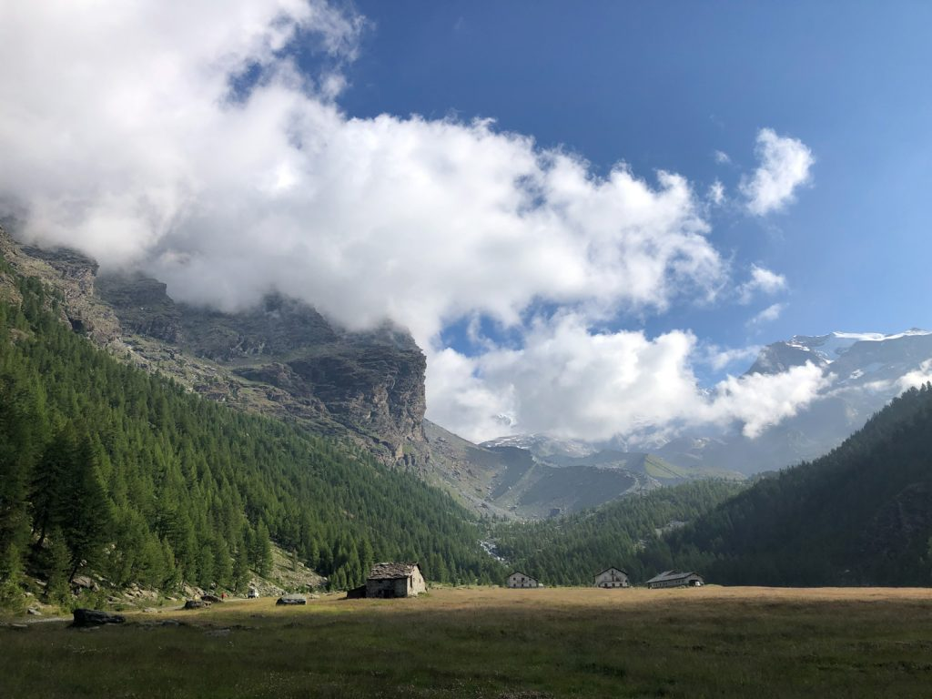 Rifugio Mezzalama, Val d'Ayas