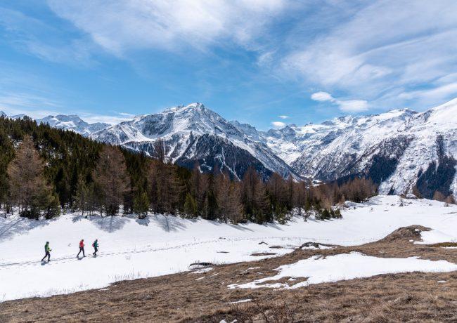 Valle d'Aosta – Pian della Cretetta, giro ad anello sopra Gimillian