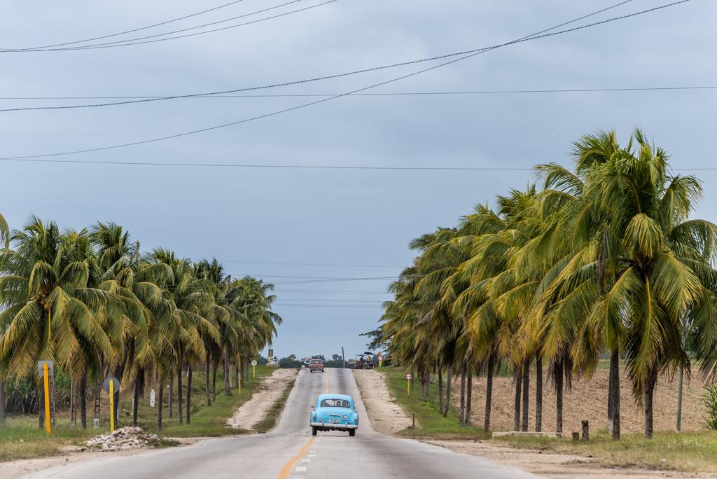 Cuba on the road – rotolando verso sud….