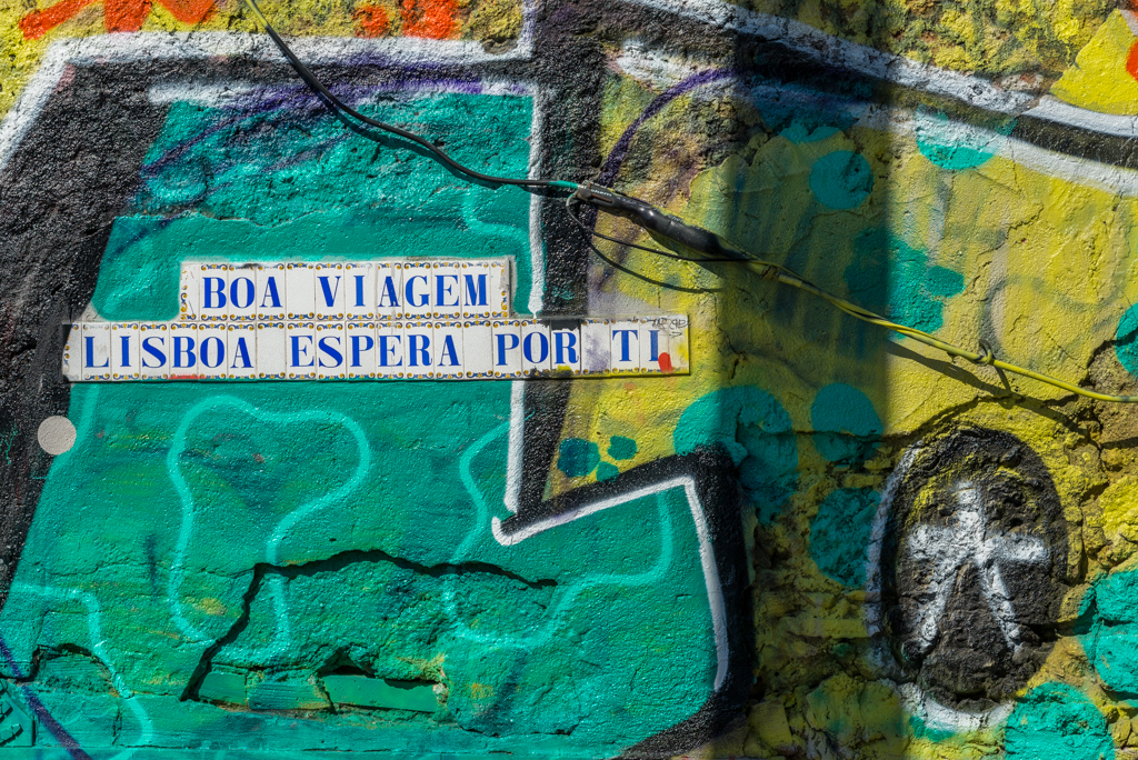 LISBONA a tutto colore, street art & quartieri alternativi